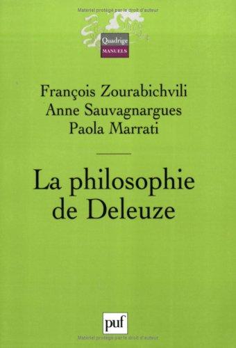 9782130547389: La philosophie de Deleuze