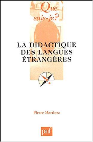 9782130547457: La didactique des langues étrangères