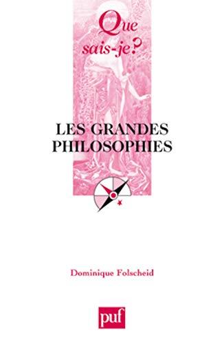 9782130547549: Les grandes philosophies