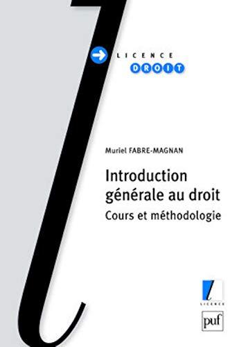 Introduction générale au droit: Muriel Fabre-Magnan