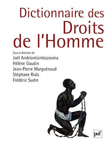 Dictionnaire des droits de l'homme (French Edition): Frédéric Sudre