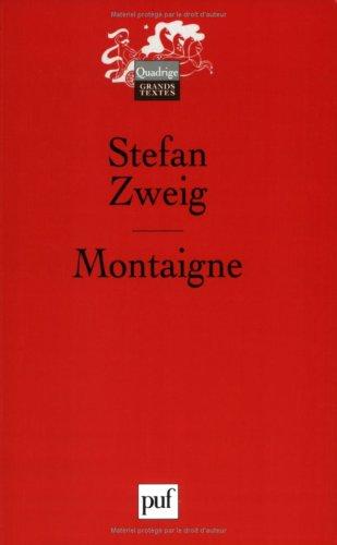 9782130548584: Montaigne
