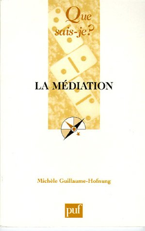 9782130548713: La médiation