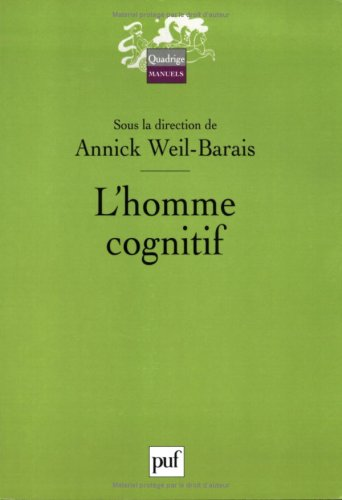 9782130548997: L'homme cognitif (French Edition)