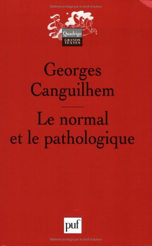 9782130549581: Le normal et le pathologique