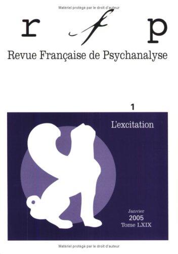 9782130550433: Revue Fran�aise de Psychanalyse T69 2005