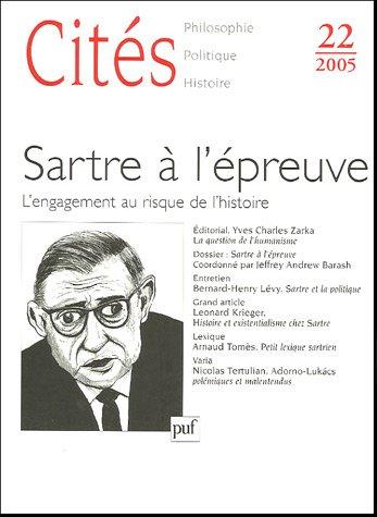 Cités, N° 22 : Sartre à l'épreuve: Yves Charles Zarka;