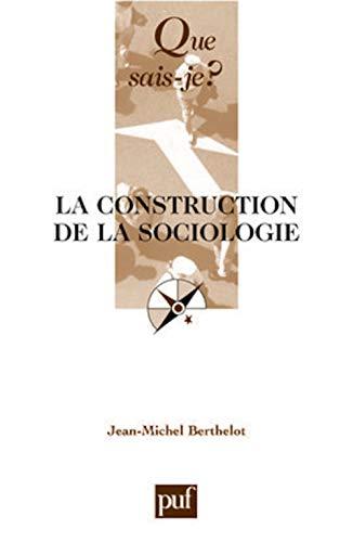 9782130551201: la construction de la sociologie