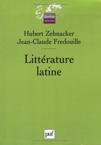 9782130552116: Littérature latine