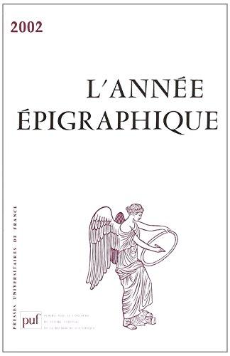 9782130553663: Annee Epigraphique Vol.2002