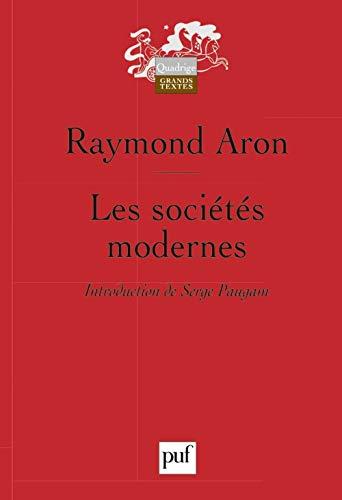 Les sociétés modernes (French Edition): Raymond Aron