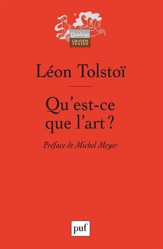 qu'est-ce que l'art ? (2130554407) by L�on Tolsto�