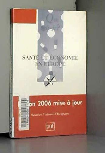 9782130554523: Santé et économie en Europe