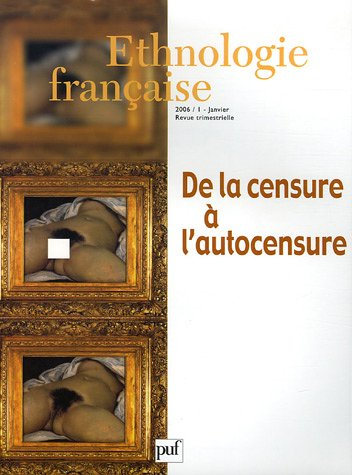 Ethnologie française, N° 2006/1, Janvier (French Edition): Claire ...