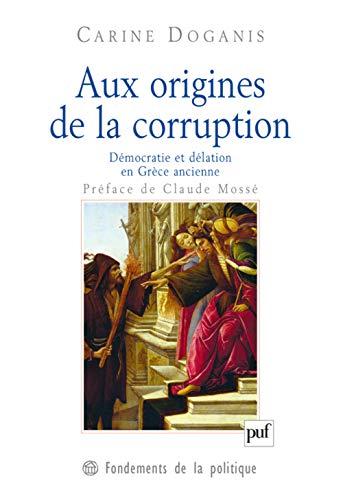 Aux origines de la corruption: Doganis, Carine