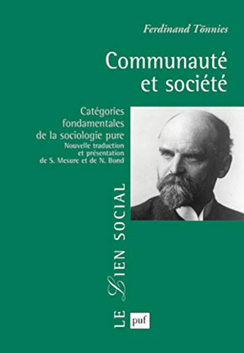 Communauté et société: Tönnies, Ferdinand