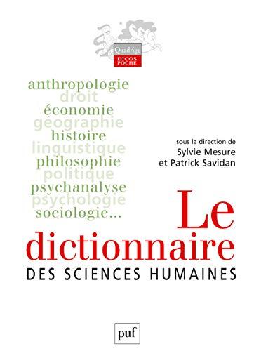 9782130557104: le dictionnaire des sciences humaines