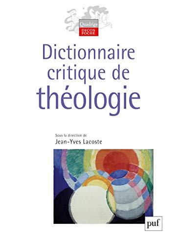 9782130557364: dictionnaire critique de théologie