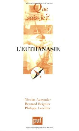 9782130557371: L'euthanasie