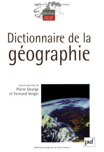 9782130557500: Dictionnaire de la géographie