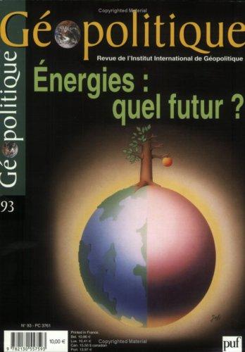 9782130557593: Géopolitique N 93 2006