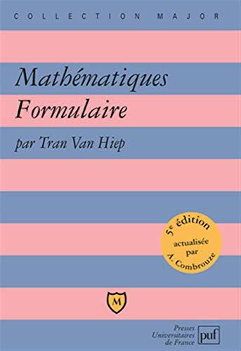 9782130557616: Mathématiques Formulaire