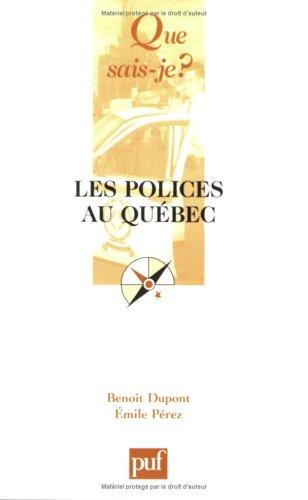 9782130557654: Les polices au Québec