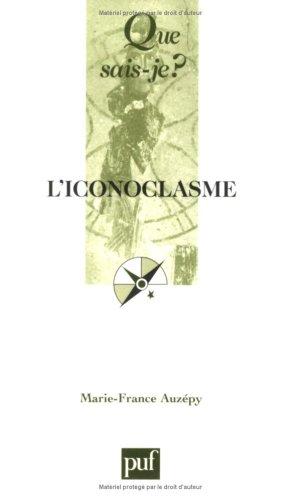 9782130558088: L'iconoclasme
