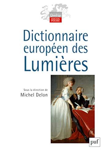 9782130559092: Dictionnaire européen des Lumières