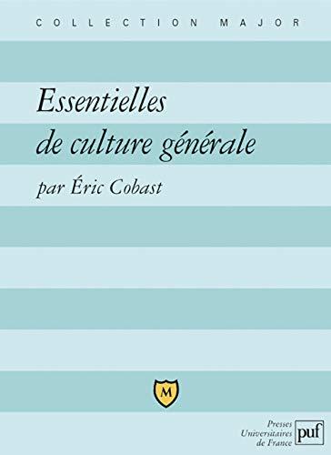 Essentielles de culture générale: Cobast, Eric