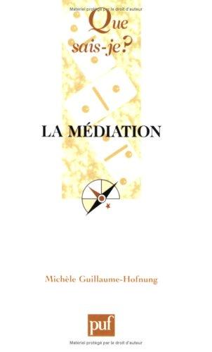 9782130559511: La médiation