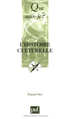 9782130559658: Histoire culturelle (L') [nouvelle �dition]