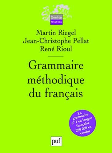 9782130559849: Grammaire méthodique du français
