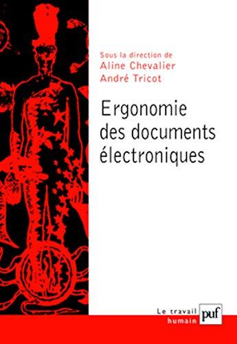 l'ergonomie cognitive des documents électroniques: Chevalier, Aline