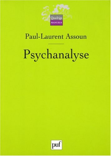 9782130560128: Psychanalyse (Quadrige)