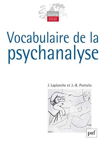 9782130560500: Vocabulaire de la psychanalyse (Quadrige. Dicos poche)