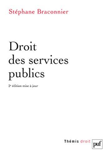 9782130561224: Droit des services publics