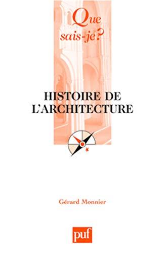 9782130562009: Histoire de l'architecture