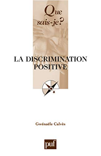 9782130562160: La discrimination positive