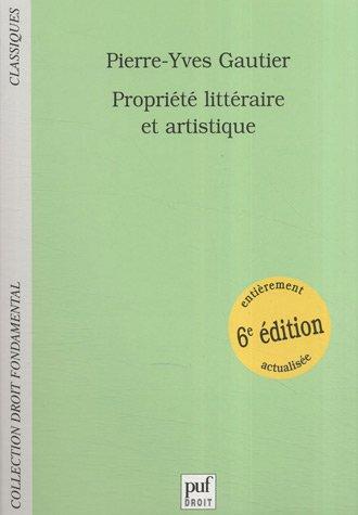 9782130563211: Propriété littéraire et artistique