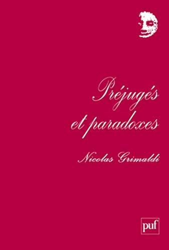 9782130564058: préjugés et paradoxes