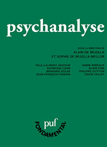 9782130564607: psychanalyse (5e édition)