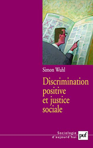 9782130564812: Discrimination positive et justice sociale