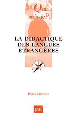9782130565536: La Didactique Des Langues Étrangères