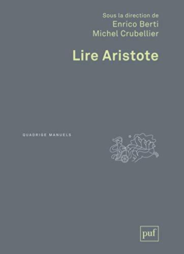 9782130567547: Lire Aristote