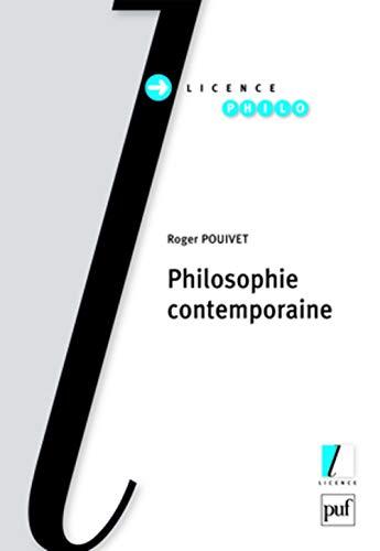 9782130568186: Philosophie contemporaine (Licence)