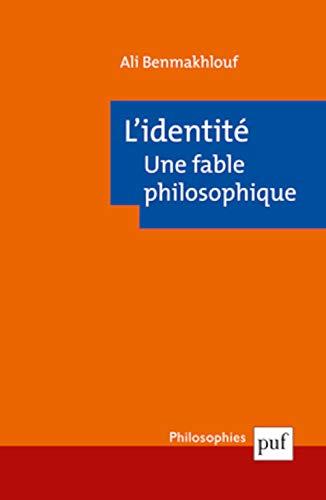 9782130568568: L'identité, une fable philosophique