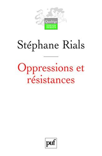 9782130568667: Oppressions et résistances (Quadrige. Essais, débats)