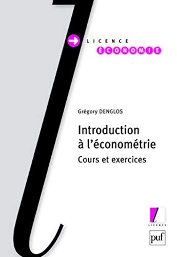 9782130568728: Introduction à l'économétrie (French edition)