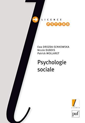 Psychologie sociale: Drozda-Senkowska, Ewa